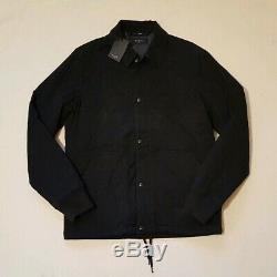 Mens Paul Smith Padded Manteau Taille M Noir (42) Rrp £ 390 Nouveau Avec Des Étiquettes