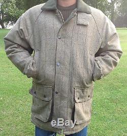 Mens Tweed Derby Veste En Laine Imperméable Respirant Tir Chaud Chasse S 4xl
