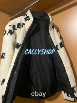 Moncler Logo-print Reversible Fleece And Shell Jacket £855 Rrp