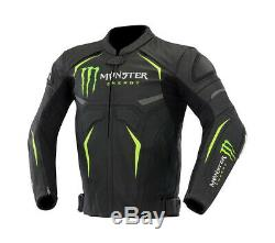 Monster Energy Moto, Cuir Moto Super Veste Armure