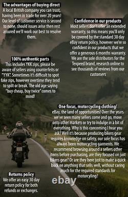 Motard Moto En Cuir Qualité Biker Cousu Avec Armure Ce