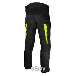 Moto Cordura Suit Jacket Trouser Chaussures De Moto En Cuir Imperméables Bottes