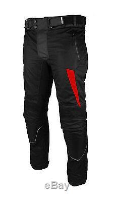 Moto Moto Costume Veste Pantalon Biker Costume Ce Blindé Imperméable