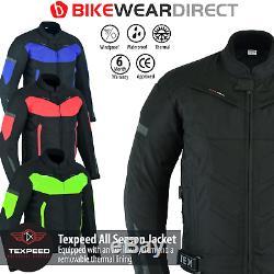 Moto Moto Veste Imperméable Avec Ce Protection Armure Biker Thermique
