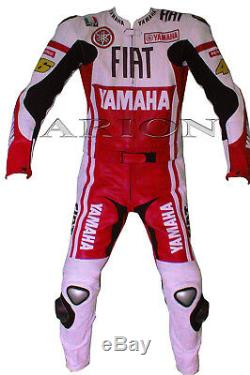 Moto Protctive Vêtements, Cuir Moto Veste Et Pantalon Rossi Motogp