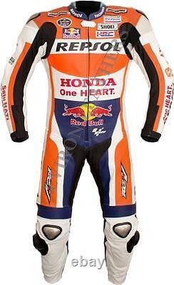 Motorcycle Racing Moto Suit En Cuir Veste Et Pantalon 2 Pièces Et 1 Pièce