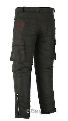 Motrox Moto Imperméable Noir Texti Lsuit Veste / Pantalon Vente