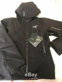 New Arc'teryx Sabre Gore-tex Recco Veste Taille Couleur Noir Homme Grand Pdsf 625 $