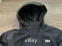 New Helly Hansen Mens Trysil Isolé Veste De Ski Imperméable Taille XL Noir 300 $