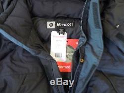 New Marmot Yukon # 9738 Noir Parka 3xl Membrain Veste Shell Vers Le Bas