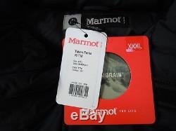 New Marmot Yukon Parka # 9738 Veste En Duvet Noir 3xl Membrain Shell