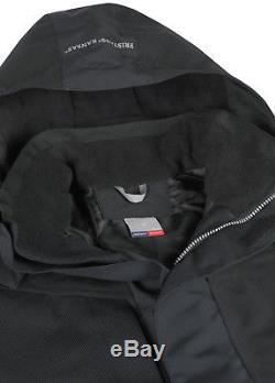 New Mens Gore Tex Jacket Heavy Duty Imperméable Imperméable Coupe-vent Doublé Polaire Rain