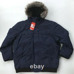 New North Face Mens Gotham Jacket III XXL 2xl Waterproof Down Winter Coat Navy