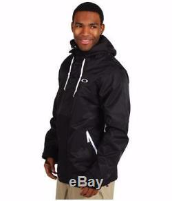 New Oakley Ascertain Jacket Snowboard Moyen Pour Hommes Noirs, Pdsf $ 320