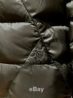 New Stefano Ricci Noir Luxe Homme Veste En Duvet D'oie D'hiver 5k $ Taille 52