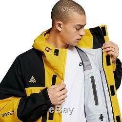 Nike Acg Gore-tex Full Zip Veste Imperméable À Capuchon 2tg Bq3445-728 500 $