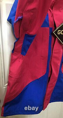 Nike Acg Gore-tex Jacket Bleu Rush XL Rose Bq3445-666 Men (500 $) Tn-o
