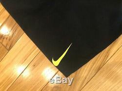 Nike Acg Gore-tex Longue Veste Noire Volt Glow Aq3516 010 Grand Pour Hommes (650 $)