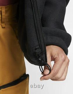Nike Acg Microfleece Hommes Veste À Capuche Noir Taille M Sportswear Fleece Full Zip
