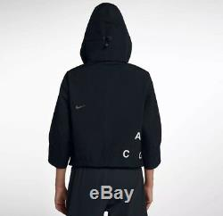 Nike Acg Nikelab Gore-tex Deploy Jacket Women's Small S Black Aj0954 010 Tno