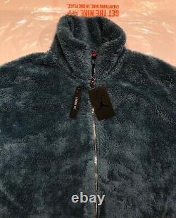 Nike Air Jordan Black Cat Sherpa Entraîneurs Mens Veste Nouveau Avec Tags Grand
