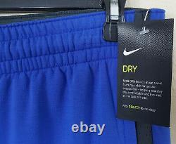 Nike Duke Basketball Hyperelite Costume Jacket + Pantalon Bleu Rare Nouveau (taille Grande)