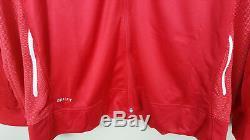 Nike Jordan Dri-fit Basketball Veste De Costume + Pantalon Rouge Blanc Nouveau (taille 4xl 4xlt)