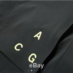 Nike Nikelab Acg Gore-tex Veste À Capuche Manteau Noir Aq3516 010 Taille M M $ 650