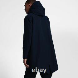 Nike Nikelab Essential Parka Homme Obsidian Blue 890300 451 S, M, L, XL