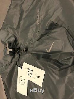 Nike Nikelab X Veste Imperméable Gyakusou Sous-couvercle Gris Ah1156 062 Us XL