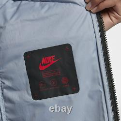 Nike Nsw Tech Aeroloft 3-en-1 Parka S Small 854744 451 Down Fill Blue Nouveau 385 $