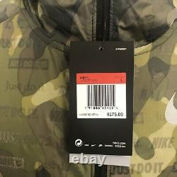 Nike Shield Ghost Veste Flash 3m Camouflage Reflective Hommes Pdsf 175 $ Nouveau