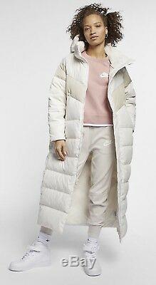 Nike Sportswear Bas Fill Femmes Parka Manteau Nouveau Avec Petit Tags
