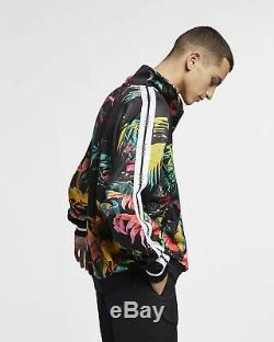 Nike Sportswear Nsw Printed Track Jacket Ar1611-389 Imprimé Floral Taille Grande