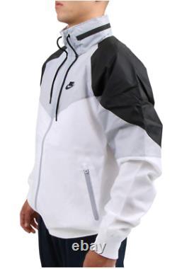 Nike Sportswear Windrunner Veste À Capuche Homme Taille S Blanc Noir Cn8770-100