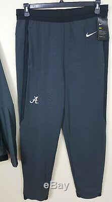 Nike Team Alabama Crimson Tide Footbal Costume Veste + Pantalon Rare Nouveau (de Grande Taille)