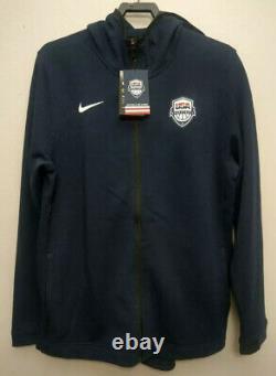 Nike Team USA Basketball Dry Showtime Veste Hoodie Taille XXXL At4961 451 3xl Nouveau