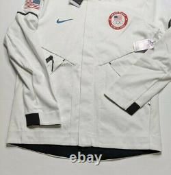 Nike Tech Fleece Windrunner Hoodie Team USA Jeux Olympiques Taille L Large 909530-100
