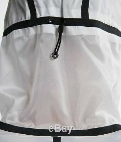 Nike Tech Pack Veste Blanc / Noir Aq6711-100 Taille Petit