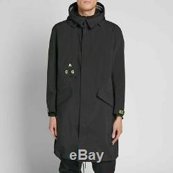 Nikelab Acg Gore-tex Jacket Choisissez Size- Aq3516-010 Noir Volt Manteau À Capuchon Lab