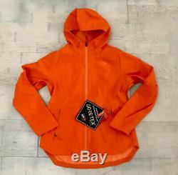North Face Apex Flex Gtx Gore-tex Jacket Feu Red Brick Femmes Petites Tn-o 199 $
