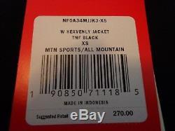 Nouveau 270 $ The North Face Veste De Snowboard Ski Down Heavenly 550 Pour Femmes Taille Xs