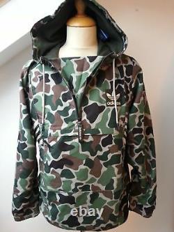 Nouveau Adidas Camo Superstar Track Top Veste Hoody Cagoule Hoodie Veste Army