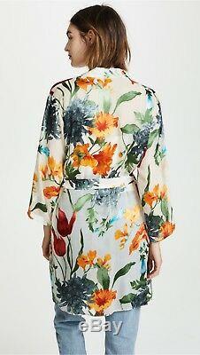 Nouveau Alice + Olivia Maylin Greenwich Garden - Robe Veste Fleurie 0 2 4 6 Xs Small