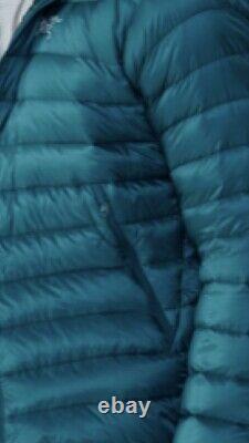 Nouveau! Arcteryx Hommes Cerium Lt Hoody Jacket850 Fill Goose Downxliliad Bleu 379 $
