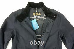 Nouveau Barbour Black Waterproof/breathable Full Zip Golspie Jacket Taille M