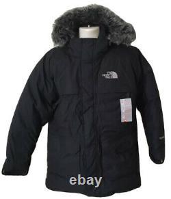 Nouveau Goose Mcmurdo North Face Parka Bas Noir Taille L Grand Mens Bnwt