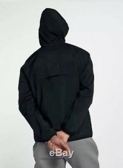 Nouveau Hommes Nike Air Jordan Black Wings Veste Coupe-vent À Capuche Mj Casual Top 23