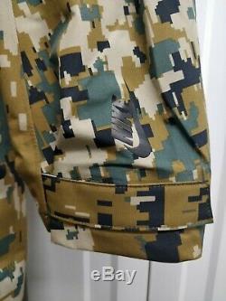 Nouveau Hommes Nike Digital Lab Camo Veste Royaume-uni Taille Parka Extra Large Camouflage XL