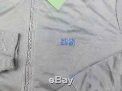 Nouveau Hugo Boss G Hommes Gris Pro Star Fitch Survêtement Zip Up T-shirt Manteau Veste